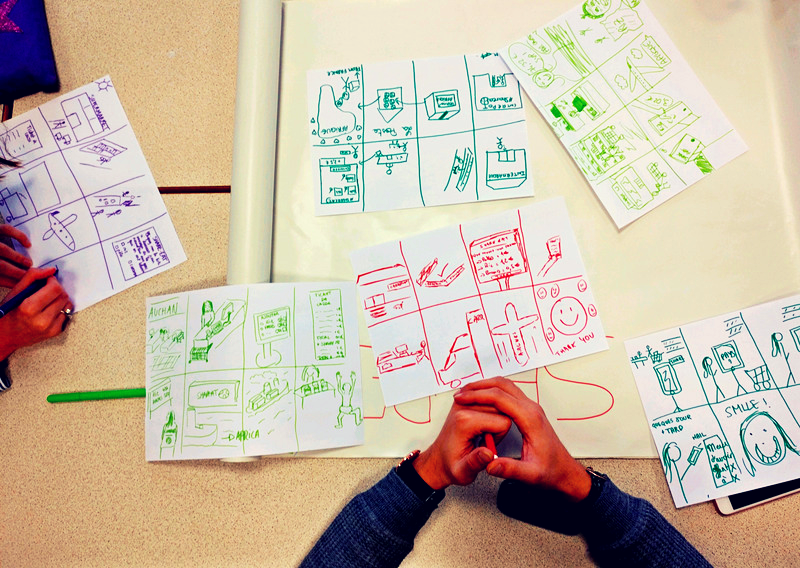 dessiner un prototype